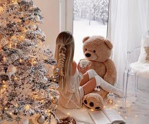 christmas, cozy, and girly image