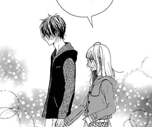 blush, manga, and yamabuki image