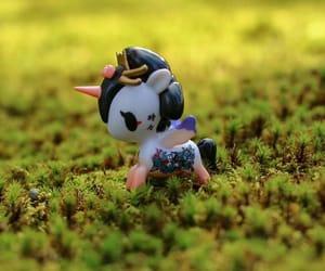 kawaii, unicorno, and nature image