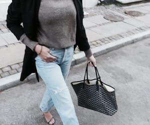 bag, blazer, and chic image