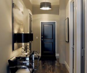 corridor, luxury, and house image