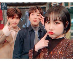 selfie, after school club, and han heejun image