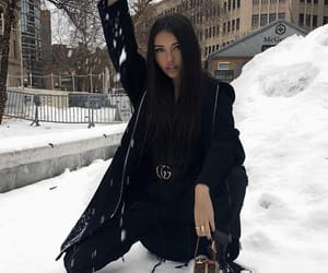 madison beer, winter, and snow image