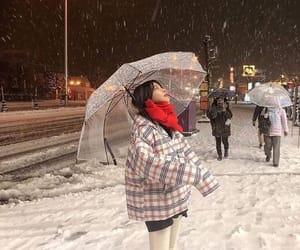 snow, ulzzang, and asian image