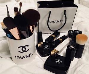 girl, chanel, and makeup image