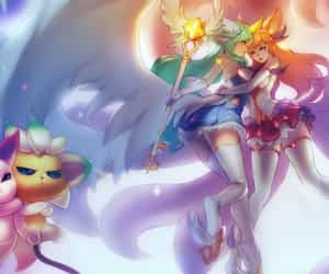 lol, ahri, and league of legends image