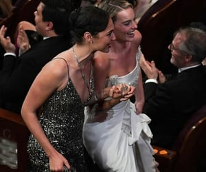 gal gadot and margot robbie image