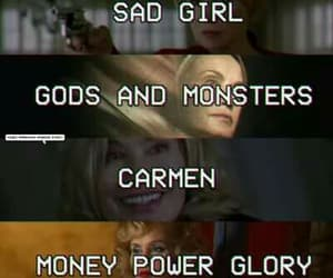 Carmen, sad girl, and money power glory image