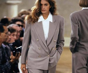 cindy crawford, fashion show, and model image