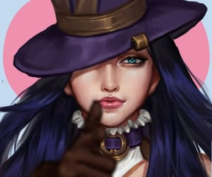art, blue eyes, and game image