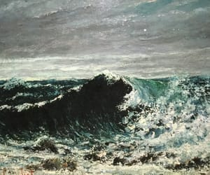 art, gustave courbet, and realism image