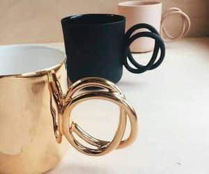 mug, black, and chic image