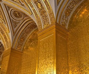 gold and architecture image