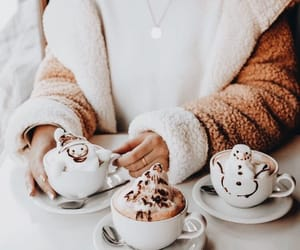 coffee, latte, and friends image