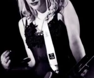 aesthetic, b&w, and Courtney Love image