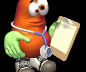 divertido, animado, and doctor image