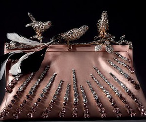 bird, clutch, and pink image