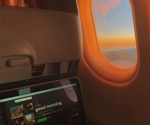 travel, plane, and aesthetic image