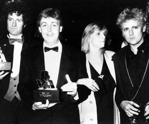 Queen, brian may, and Paul McCartney image