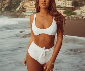 bikini, italy, and white image