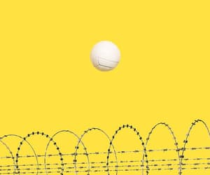 ball, Barbed Wire, and minimalism image