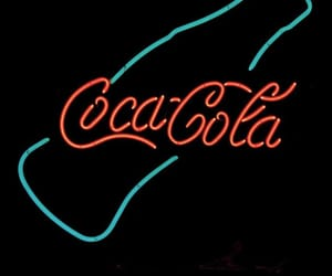 background, red, and coca-cola image