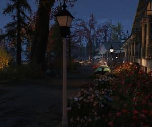 Darkness, night, and street lights image