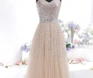 long prom dress and a-line prom dress image