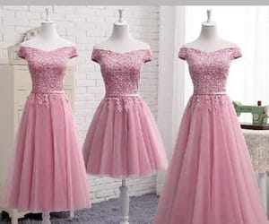 cute homecoming dresses, prom dresses pink, and a-line homecoming dresses image