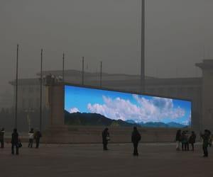 sky, china, and grunge image