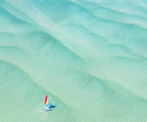 aerial photography, aerial view, and boat image