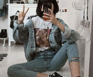 alternative, indie, and jeans image