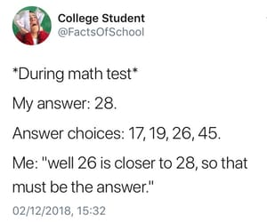 finals, funny, and mathematics image