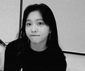 black & white, bw, and kpop image