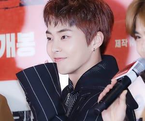 exo, kim min seok, and xiumin image