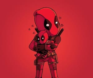 deadpool, Marvel, and antihero image