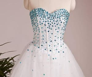 short prom dress and a-line homecoming dresses image