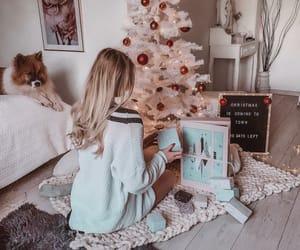 christmas, girl, and holiday image