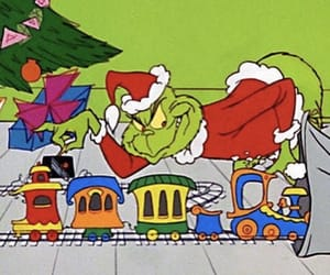 christmas, december, and grinch image