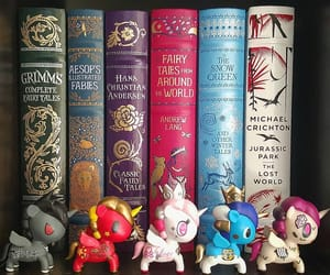 books, drago, and fairy tales image