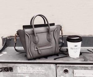 bag, purse, and grey bag image