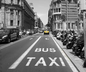 driving, taxi, and spain image