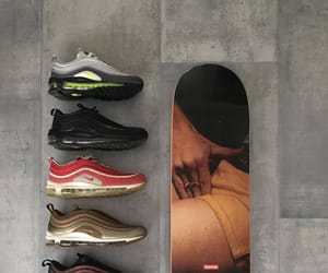 footwear, nike, and nike air max 97 image