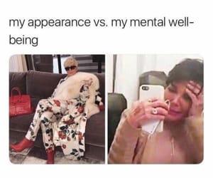 meme, kris jenner, and relatable image