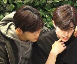 kpop, mark, and jinyoung image