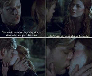 couples, jace, and clary image