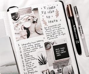 inspo, journal, and school image