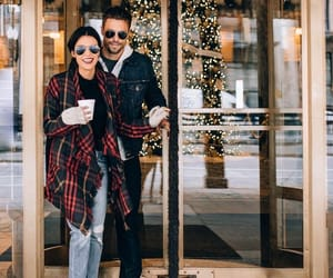 christmas, happy couple, and soul mate image