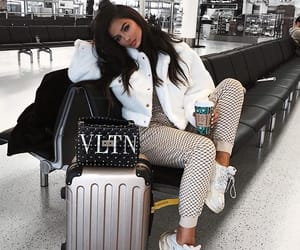 fashion, airport, and outfit image