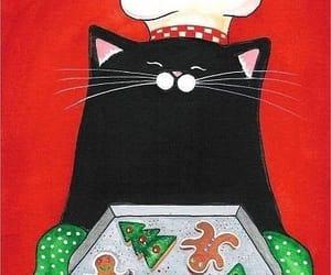 cats, felinos, and galletas image